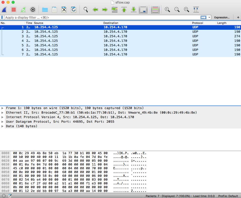 Wireshark_UDP_2055