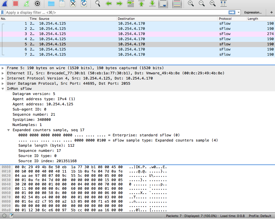 Wireshark_sFlow